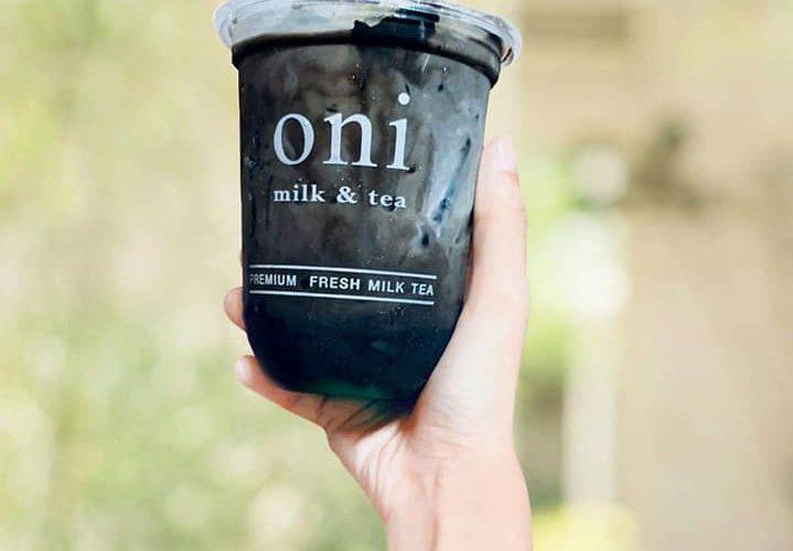Oni Milk And Tea Menu ชานมไข่มุกทูโทน 2 ขั้วความอร่อยในแก้วเดียว ต่างแต่ลงตัว